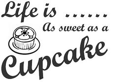 Life is As Sweet as A Cupcake