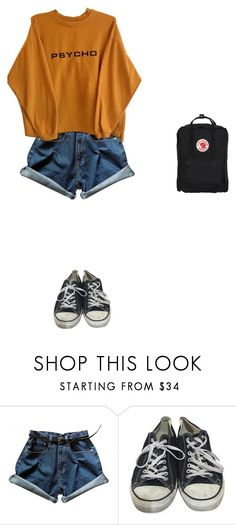"""""""Untitled #423"""" by ericanais on Polyvore featuring Converse and Fjällräven"""