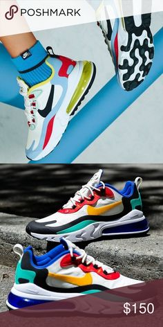 28 Best Nike Air Max 270 React images | Air max 270, Nike