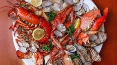 The Lobster and Seafood Shack at Circles buffet will make you happy as a clam