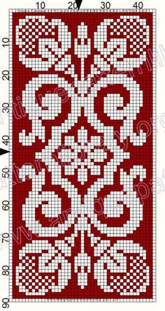 ru / Р--РLeто # 129 - Le Filet Ancien au Point de Reprise III - gabbach Cross Stitch Bookmarks, Cross Stitch Bird, Cross Stitch Flowers, Cross Stitching, Cross Stitch Embroidery, Filet Crochet Charts, Crochet Diagram, Knitting Charts, Knitting Stitches