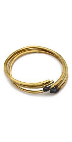 matchsticks gold bracelet set