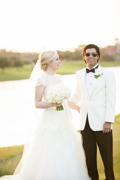 Photography: mak photography - makphotography.com  Read More: http://www.stylemepretty.com/florida-weddings/jacksonville-fl/2013/09/19/elegant-jacksonville-wedding-at-tpc-sawgrass-from-mak-photography/