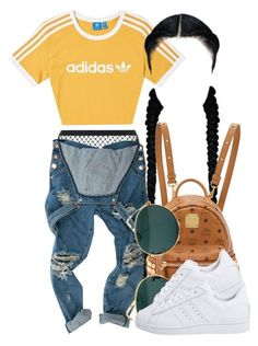 7|10|17 by miizz-starburst ? liked on Polyvore featuring adidas, Agent Provocateur, MCM, Ray-Ban and adidas Originals