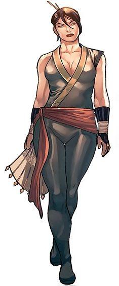 Marvel Comics - Black Lotus