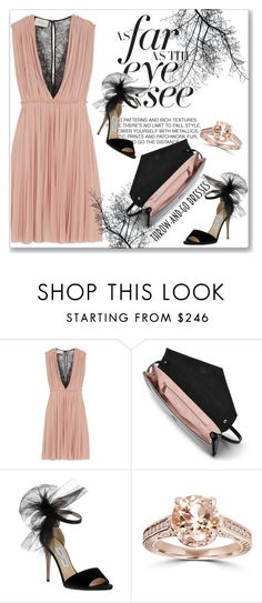 """Easy Peasy: Throw-and-Go Dresses"" by andrejae ❤ liked on Polyvore featuring Gucci, L.K.Bennett, Jimmy Choo, Bliss Diamond and easypeasy"