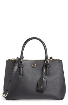 Tory Burch 'Mini Robinson' Double Zip Tote available at #Nordstrom