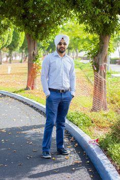 Men's Fashion Urban Sardar Sikh Fashion Surjit Singh - BE little less formal