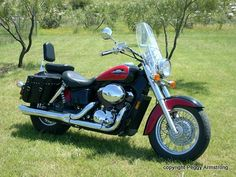 2000 Honda Shadow ACE 750. What I want!