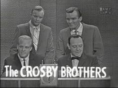 Phil, Dennis, & Lindsay Crosby; Joey Bishop [