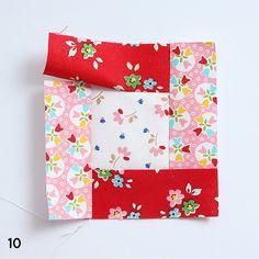Der zweite Block des 6 Köpfe 12 Blöcke - Quilt Alongs ist der Bright Hopes Quilt Block. In diesem Tutorial zeige ich dir, wie du ihn herstellst! Quilting Tutorials, Quilting Designs, Tips & Tricks, Peanuts Gang, Bright, Pinwheels, Baby Quilts, Quilt Blocks, Quilt Patterns