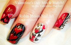 939 Best Nail Art Valentines Day Images On Pinterest In 2018