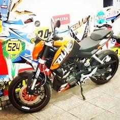 #diseño #vinilo #ploteo #ktm #motos #duke #tucuman
