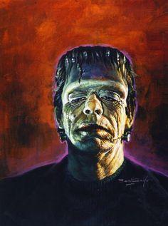 Glenn Strange as the monster