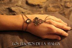 Dragon bracelet ring by Ayalga on Etsy