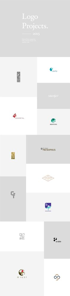 Logo Projects #2 on Behance