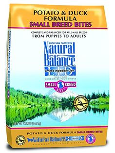 Dick Van Patten's Natural Balance Limited Ingredient Diets Potato and Duck Formula Small Breed Bites Dry Dog Food... $31.59 (11% OFF)