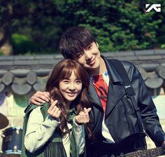 "Sandara Park and Kang Seung Yoon Are Romantic Buskers in ""We Broke Up"" Stills"