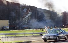 The Pentagon's West Wall, September 11, 2001 9-11 #NeverForget #911 #Remembering911 9/11/2001