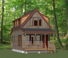 Tiny House Floor Plans 2 Bedroom 16x28 tiny house -- 2 bedroom -- pdf floor plan -- 810 sqft