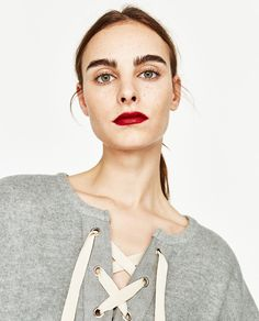 BATWING SLEEVE SWEATSHIRT-NEW IN-WOMAN-COLLECTION SS/17   ZARA United States