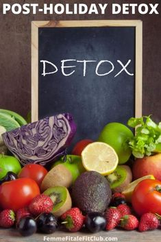 If you indulged a little too much this Thanksgiving or Christmas holiday season follow these strategies to help your body detox and give it a rest. #detox #juicing #freshproduce #cleanse #christmas #thanksgivingdetox #thanksgiving Fruit Hampers, Help With Bloating, Health And Wellness, Health Fitness, Easy Detox, Weight Loss Cleanse, High Calorie Meals, Healthy Living, Eating Healthy