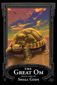Small God of Small Gods Dark Fantasy, Fantasy Art, Terry Pratchett Discworld, Cool Art, Awesome Art, Book Nerd, Turtle, Geek Stuff, The Incredibles