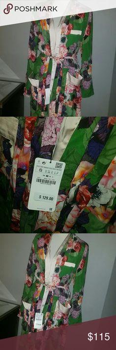 Zara kimono Floral kimono Zara Jackets & Coats Blazers
