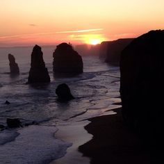 #oz #12Apostles #sunset by tcahayes http://ift.tt/1ijk11S