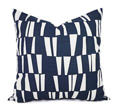 Decorative Pillows  Modern Pillow Covers  Two by CastawayCoveDecor