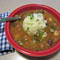 Good New Orleans Creole Gumbo | I was looking for an authentic gumbo recipe and I found it. I've cooked for a long time and try to follow a recipe exactly the first time I make it. As is, this is a great recipe!