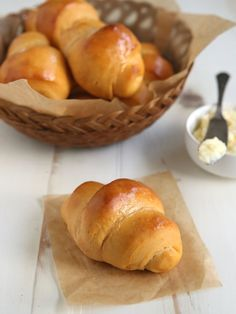 Sweet Potato Crescent Rolls with Whipped Honey Butter