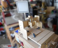 Building your own 3-Axis CNC router is both fun and educational. This Instructable shows all the steps I followed to make my DIY CNC Router. This is the second one I made, after learning a lot from building the first version.This is a very good router that can be built at a reasonable price using readily available available materials. This design uses DIY linear bearings, threaded rod and plywood (or MDF) construction. No welding, no fancy materials.This is not a mill designed to machine…