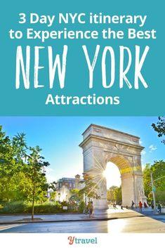 3 day NYC itinerary