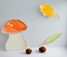 Pilze & Co. - DIY mit Aquarellbuntstiften