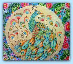 ARTES DA YLA*-Reino Animal Millie Marotta