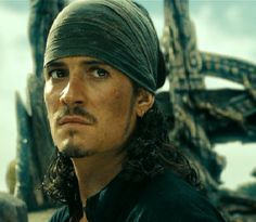 Pirates of the Caribbean - Will Turner. As the new captain of the flying dutchman!