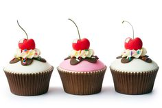 Coberturas de fondant para cupcakes según ingredientes
