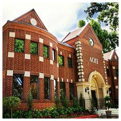 University of Alabama   AOII Chapter Houses   Pinterest   Alabama ...