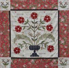 Blackbird Designs Quilt Patterns | Postcards from Home Kit - Blackbird Designs Fabric center