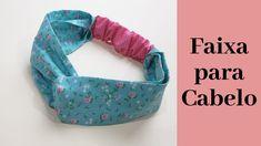 Sewing Headbands, Fabric Headbands, Baby Headbands, Easy Face Masks, Diy Face Mask, Sewing Tutorials, Sewing Projects, Tutorial Sewing, Baby Fabric