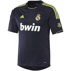 Adidas Real Madrid Away Jersey Camisa Real Madrid, Real Madrid Shirt, Real Madrid Football Club, Us Soccer, Soccer Jerseys, Adidas Football, Shirt Outfit, T Shirt, Football Kits