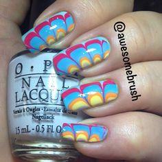 Instagram photo by awesomebrush #nail #nails #nailart