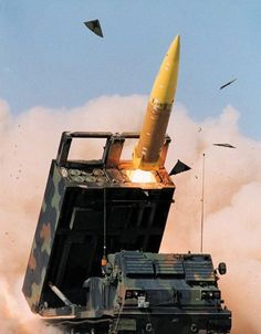 army The Army Tactical Missile System (ATACMS) is fired from an M270 MLRS