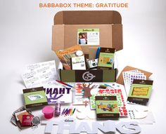 Scattered Thoughts of a Crafty Mom: BabbaBox Review and Giveaway