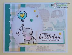 Sweet Elle - Stamp of the Week - Unity Stamp Co