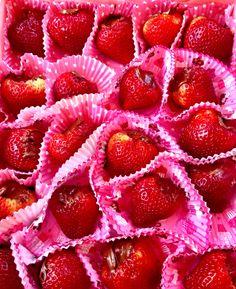 Fresas con nutella