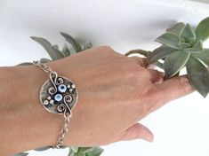 Evil eye bracelet Blue Evil Eye Bracelet Turkish Jewelry