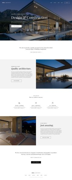 This is our daily Website design inspiration article for our loyal readers. Every day we are showcasing a website design ideas whether live on app stores or only designed as concept. Web Design Noir, App Design, Web Design Black, Site Web Design, Clean Web Design, Website Design Layout, Web Design Projects, Homepage Design, Web Design Trends
