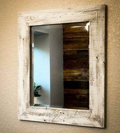 espejo con palets